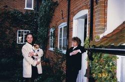 With Jenni Wake-Walker, Suffolk, UK, 1997