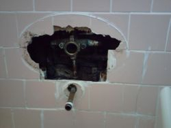 In Wall Tub Faucet Replacement