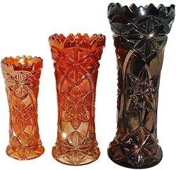 Derby aka Pinwheel, vases -Sowerby