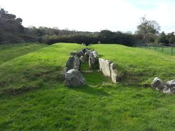 Audleystown Court Cairn, Strangford, County Down