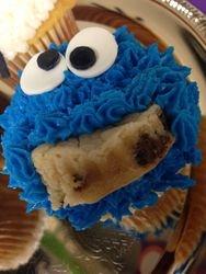 Cookie Monster Cupcakes