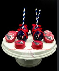 Houston Texans Candy Apples