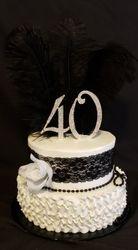 Roaring 20s Cake