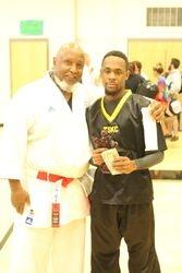 Men's Black Belt Kumite Grand Champion