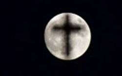 Supermoon on November 14 2016 above Nayplion Greece
