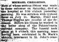 Creighton, Michael 1894