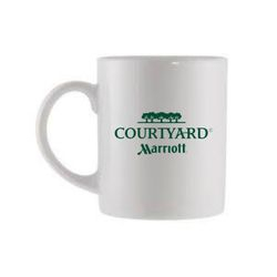 Courtyard Coffee Mugs, 11oz. - DISCOUNTED to just $35.00 per case of 36 mugs!  - Limited Supply
