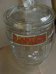 Planters Peanut Jar Barr's Drug Store