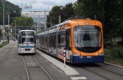 Contrasting Designs: Duewag Low Floor & Variobahn Trams