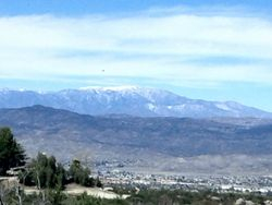 Looking towards San Gorgonio Mts