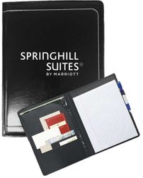 "Writing Portfolio - Interior Organizer with Pen Loop and 8 x 11"" Writing Pad"