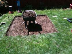 Paver pation excavation