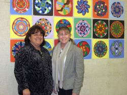 Kay Devine and Marsha Judd