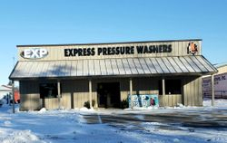 Exterior of Blooming Prairie Express Pressure Washers