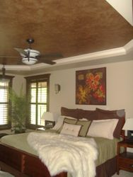 Bronze/Gold Ceiling Niche