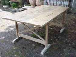#13/ 269 Lrg Wooden Table SOLD