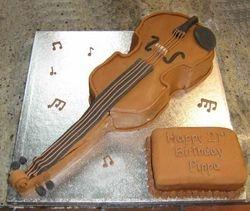 Chocolate Violin
