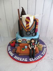 Harry Potter, Friends and New York Birthday Cake