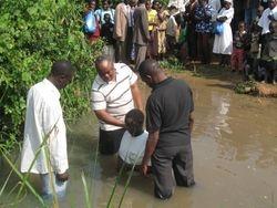Baptism at Butula
