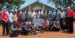 Bible students in Kitale.