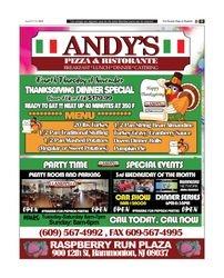 ANDY'S RISTORANTE and PIZZA