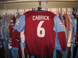 Michael Carricks Worn Play Off Final Shirt worn on 24th May 2004 vs Crystal Palace At the Millenium Stadium Cardiff