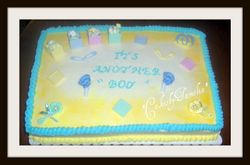 Its another boy Cake