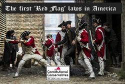 """The first """"Red Flag Laws"""" in America"""