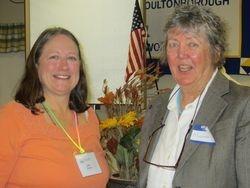 Pres Deb Kumpf with Speaker Dr. Martha Carlson