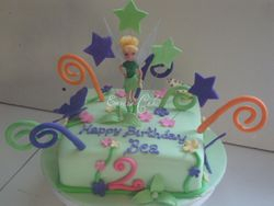 Tinkerbell Cake 2 (B091)