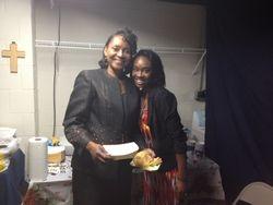 Evangelist Campbell & Daughter