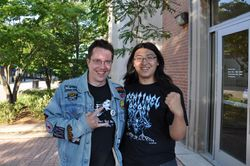 "Karl and ""He-Man"" He Wang of WMUC"