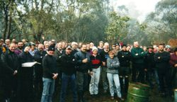 2001 All the very happy rallyists together again