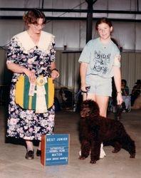 Ely.  Winning Best Junior Handle.  1994.