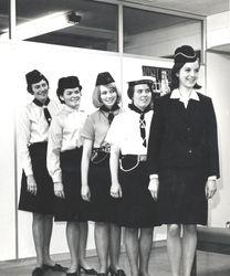 1967 Ranger Uniform with predecessors