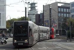 K4000's entering Neumarkt from Cacilienstrasse.