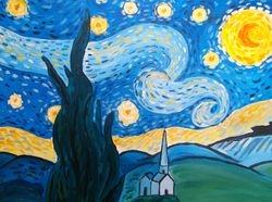 "Van Gogh's ""Starry Starry Night"""