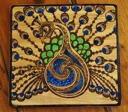 Peacock 3-Way Tray