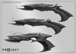 Klingon hand Phaser roughs
