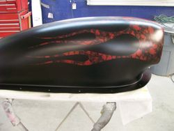 Drag Car Hood Scoop