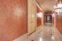 Right Wing Hallway walls