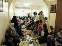 Iftar on Laylat al-Qadr