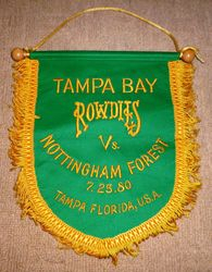 tampa bay rowdies v nottingham forest match pennant
