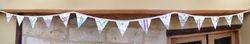 Cath Kidston fabric & vintage embroidery 15 flag