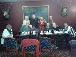 Dinner Party at Lochailort Inn January 2015