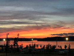 Sunset at lake Guntersville