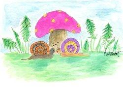 Woodland Mushroom 2