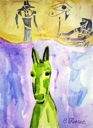 Egyptian Donkey