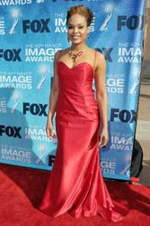 Demetria McKinney at the 42nd NAACP Image Awards