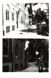 My apartment, day and night, on 13th & Spruce